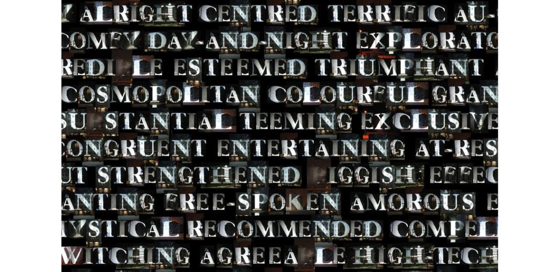 <em>1000 Platitudes Triptych</em> (detail)