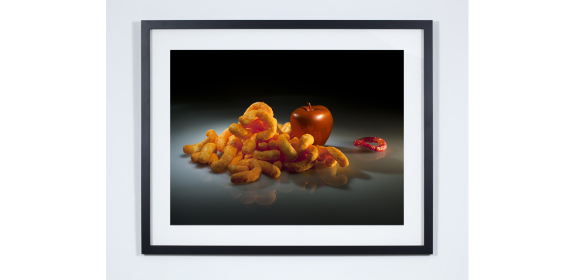 <em>The Real and The Fake</em>, series:<br /><em>Still Life with Funyun</em><br /><em>More Food for Children</em>