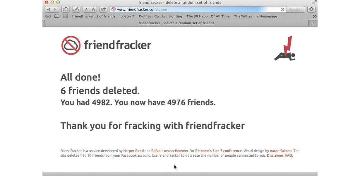 Friendfracker